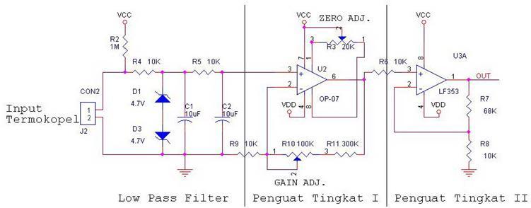 Merancang pengkondisi sinyal termokopel fahmizalnote rangkaian pengkondisi ccuart Images