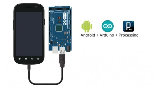 android+arduino+processing