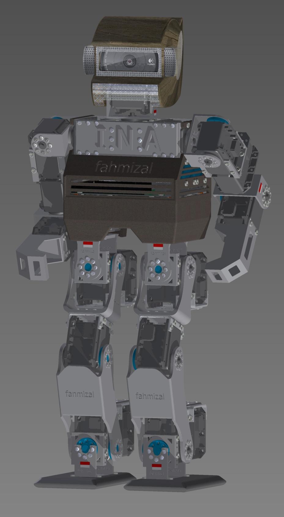 Kid Size Robot Fahmizal 5