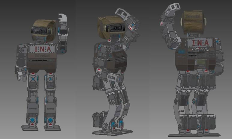 KidSize Fahmizal Robot